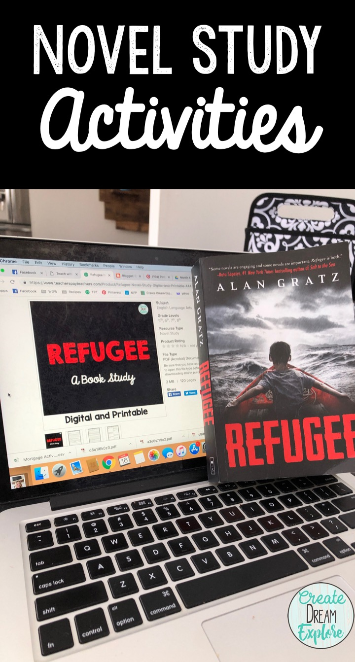 Refugee Novel Study Activities