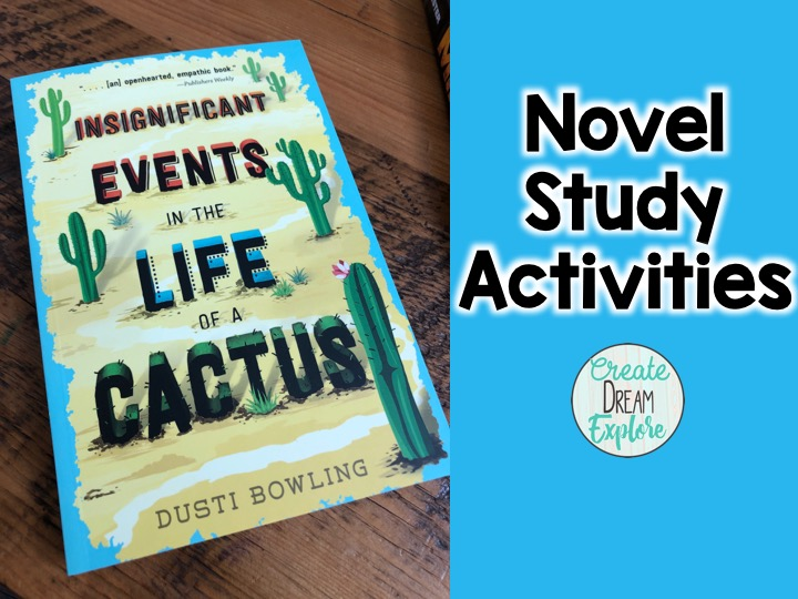 novel study insignificant events in the life of a cactus in