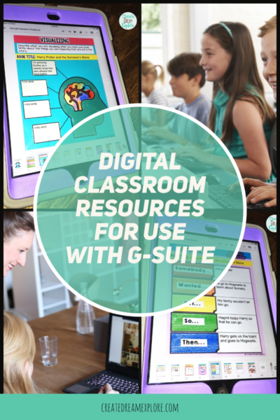 Google Classroom Resources digital activities distance learning