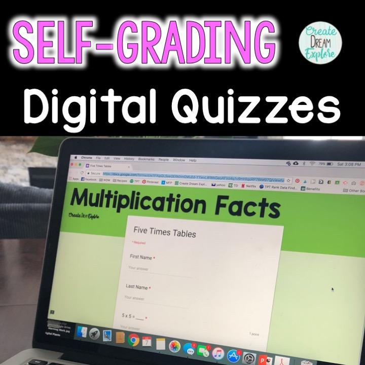 Digital Multiplication facts fluency