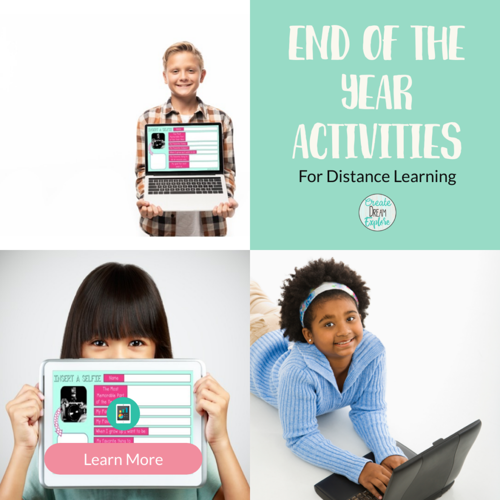 Distance Learning Digital End of the Year